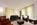Plameco Spanndecken Wohnzimmerdecke weiß matt